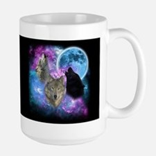 Wolves Mystical Night Mugs