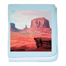 John Ford's Point, Monument Valley, U baby blanket