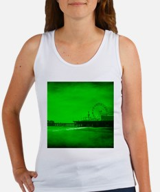 Ghostly Green Pier Tank Top