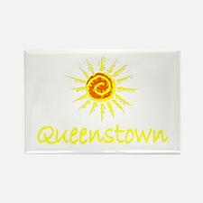 Queenstown, New Zealand Rectangle Magnet