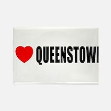 I Love Queenstown, New Zealan Rectangle Magnet