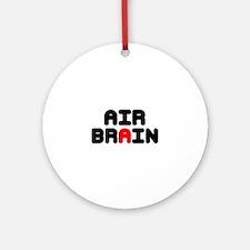 AIR BRAIN Round Ornament