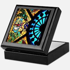 STAUG Glass Keepsake Box