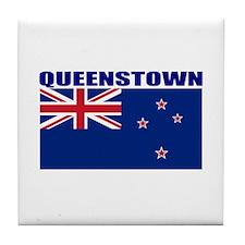 Queenstown, New Zealand Tile Coaster