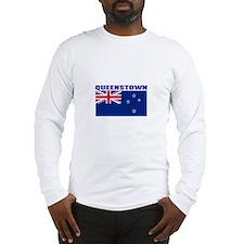 Queenstown, New Zealand Long Sleeve T-Shirt