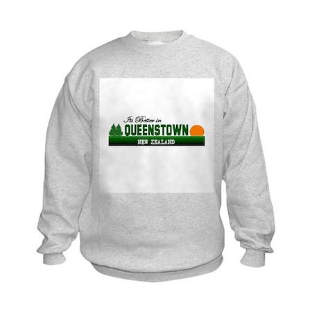 Its Better in Queenstown, New Kids Sweatshirt
