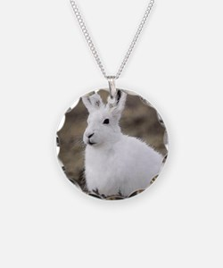 Arctic Hare Necklace