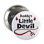 Daddy's Little Devil Button