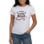 Daddy's Little Devil Women's T-Shirt