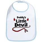 Daddy's Little Devil Bib