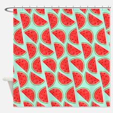Watermelon Pattern, Shower Curtain