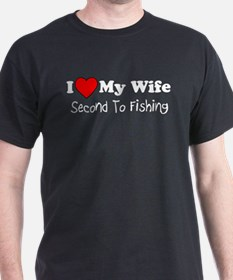 Second To Fishing T-Shirt