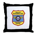 VA Beach Selective Enforcemen Throw Pillow