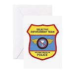 VA Beach Selective Enforcemen Greeting Cards (Pk o
