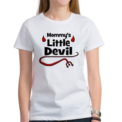Mommy's Little Devil Women's T-Shirt