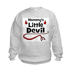 Mommy's Little Devil Sweatshirt