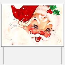 Vintage Santa 4 Yard Sign
