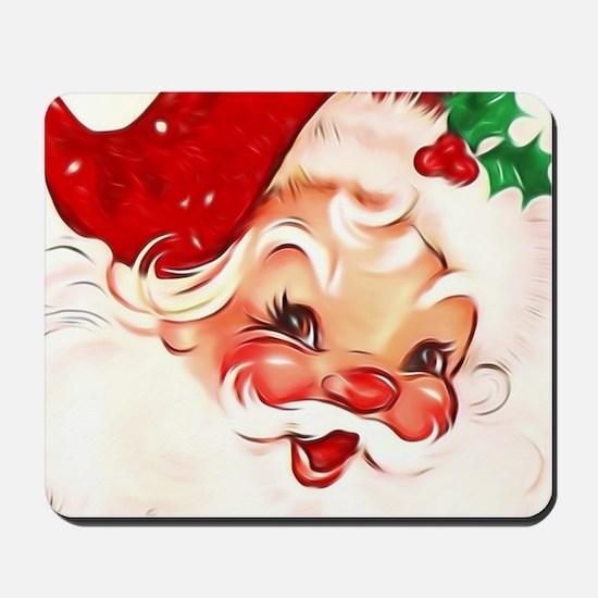 Vintage Santa 4 Mousepad
