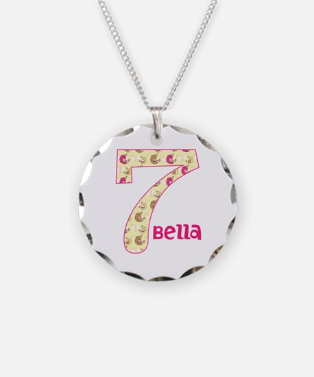 7th Birthday Pesonalized Necklace