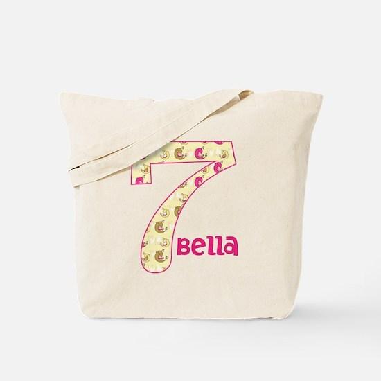 7th Birthday Pesonalized Tote Bag