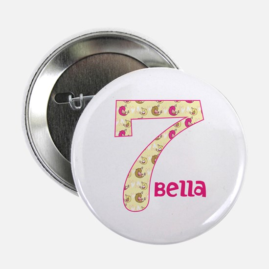 "7th Birthday Pesonalized 2.25"" Button"
