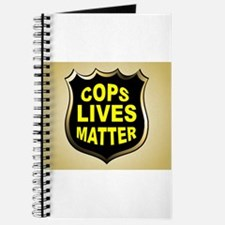 COPS LIVES MATTER Journal