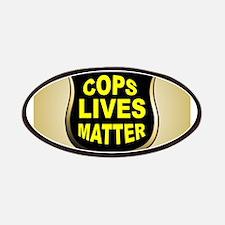 COPS LIVES MATTER Patch