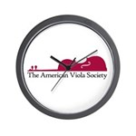 American Viola Society Wall Clock