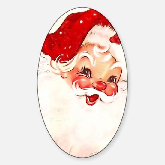 Vintage Santa 4 Decal