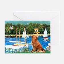 Sailboats / Nova Scotia Greeting Card
