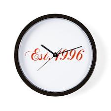 Unique Established Wall Clock