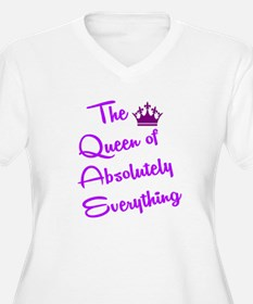 THE QUEEN OF Plus Size T-Shirt