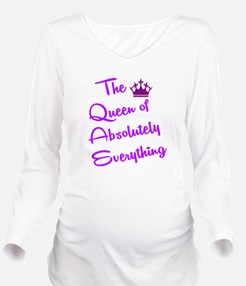 THE QUEEN OF ABSOLUT Long Sleeve Maternity T-Shirt