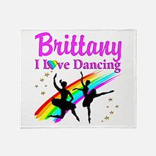 ELEGANT DANCER Throw Blanket