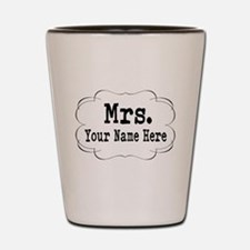 Wedding Mrs. Shot Glass