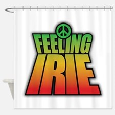 Feeling IRIE Shower Curtain