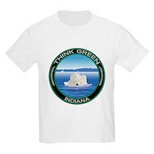 Environmental Polar Bear Indiana T-Shirt