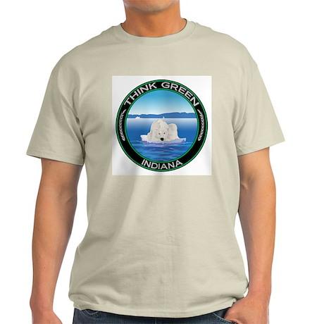 Environmental Polar Bear Indiana Light T-Shirt
