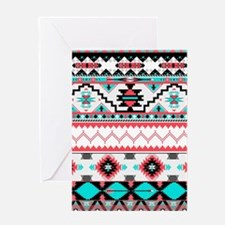 Aztec Pattern Greeting Cards