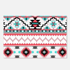 Aztec Pattern Postcards (Package of 8)