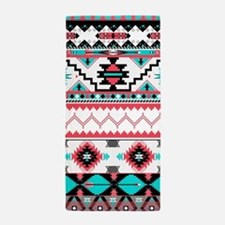 Aztec Pattern Beach Towel