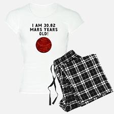 58th Birthday Mars Years Pajamas