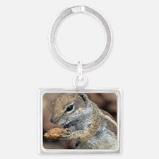 Squirrel Landscape Keychain
