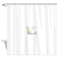 Happy Birthday Daughter in Law Shower Curtain