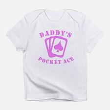 Daddys Pocket Ace Infant T-Shirt