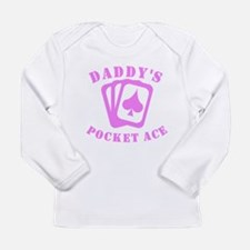 Daddys Pocket Ace Long Sleeve T-Shirt