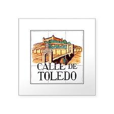 "Cute Toledo rockets Square Sticker 3"" x 3"""