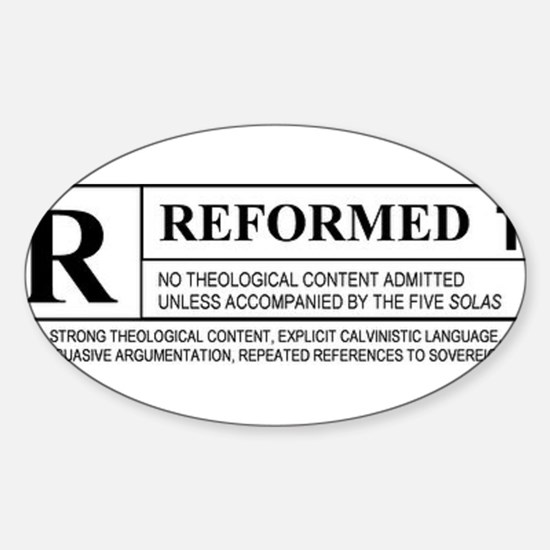 Reformed Decal