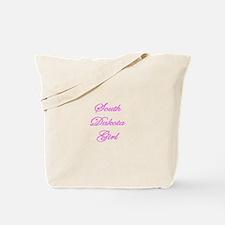 South Dakota Girl Tote Bag