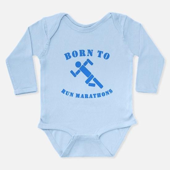 Born To Run Marathons Body Suit